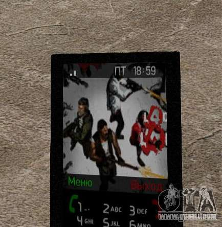 New themes for your phone for GTA 4