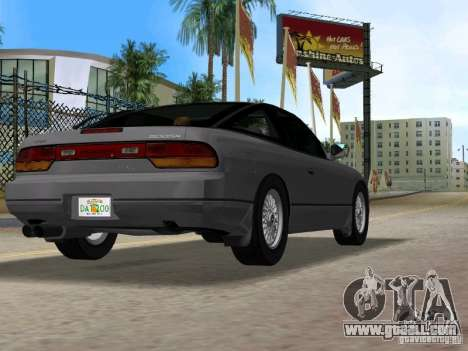 Nissan 200SX for GTA Vice City back left view