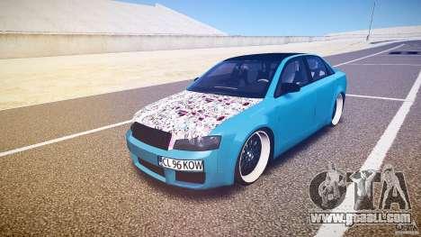 Audi S4 Custom for GTA 4