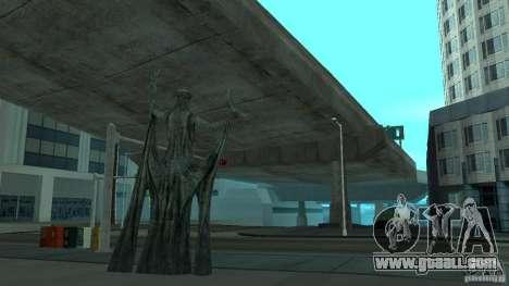 Statue of Skyrim for GTA San Andreas second screenshot