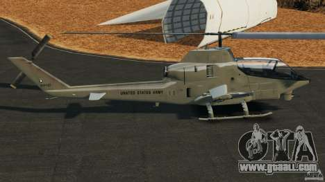 Bell AH-1 Cobra for GTA 4 left view