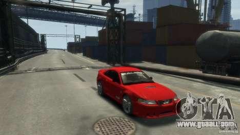 SALEEN S281 for GTA 4 back left view