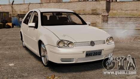 Volkswagen Golf Flash Edit for GTA 4
