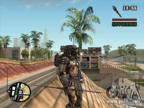 The Predator Spear for GTA San Andreas forth screenshot