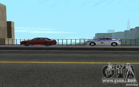 Police on the bridge of San Fiero_v. 2 for GTA San Andreas sixth screenshot