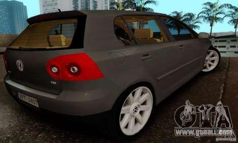 Volkswagen Golf 5 TDI for GTA San Andreas left view