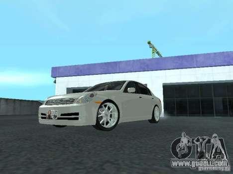 Nissan Skyline 300 GT for GTA San Andreas