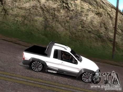 Fiat Strada for GTA San Andreas right view
