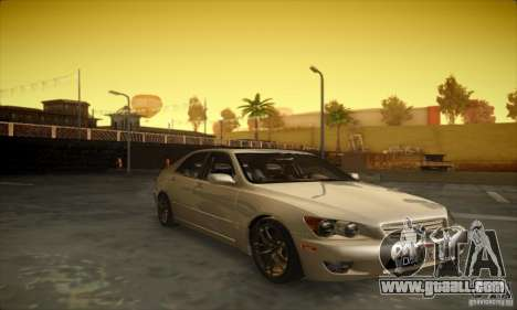 Lexus IS 300 for GTA San Andreas left view
