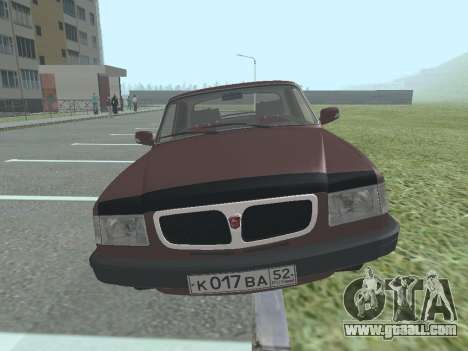 Volga GAZ 3110 for GTA San Andreas left view