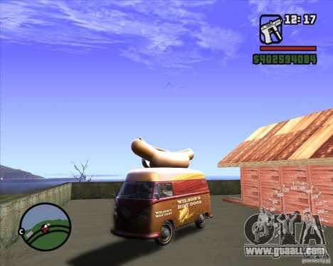 Volkswagen Transporter T1 Hot Dog for GTA San Andreas