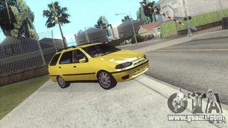 Fiat Palio Weekend 1997 for GTA San Andreas back left view