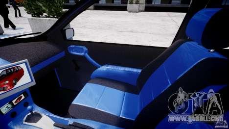 Chevrolet Corsa Extreme Revolution for GTA 4 back view