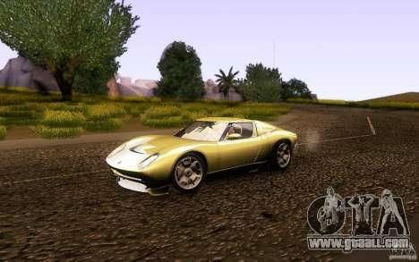 Lamborghini Miura Concept for GTA San Andreas