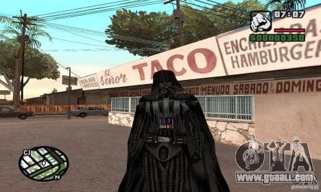 Darth Vader for GTA San Andreas
