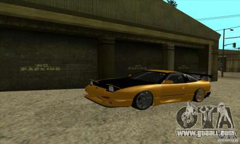 Nissan 240SX Drift Tuning for GTA San Andreas left view