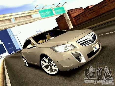 Opel Insignia for GTA San Andreas