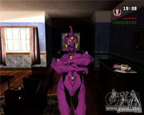 Guyver-I Demo for GTA San Andreas forth screenshot