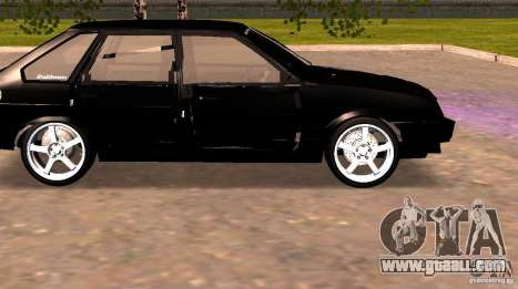 Vaz 2109 Centre Side v2.0 for GTA San Andreas left view