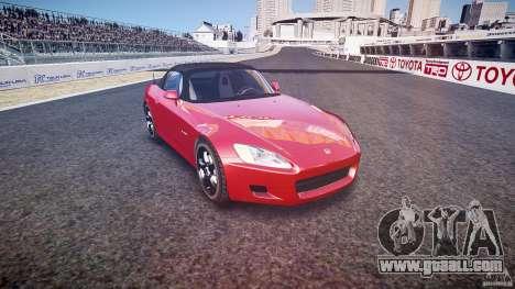 Honda S2000 2002 v2 for annealing for GTA 4