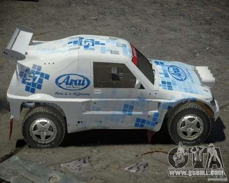 Mitsubishi Pajero Proto Dakar EK86 vinyl 3 for GTA 4 inner view