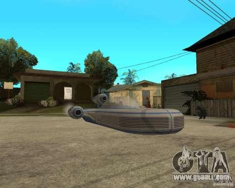 X34 Landspeeder for GTA San Andreas right view