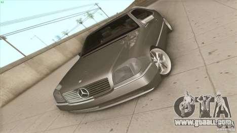 Mercedes Benz 600 SEC for GTA San Andreas right view