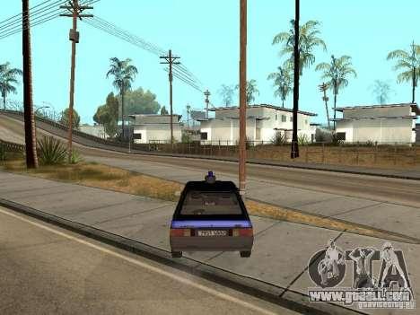 AZLK 21418 Patrol for GTA San Andreas back left view