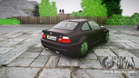 BMW M3 e46 2005 for GTA 4 side view
