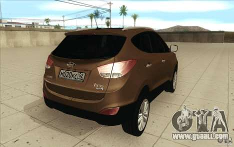 Hyundai ix35 for GTA San Andreas side view