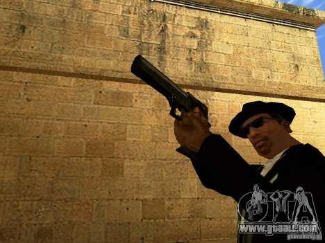 Desert Eagle MW3 for GTA San Andreas sixth screenshot