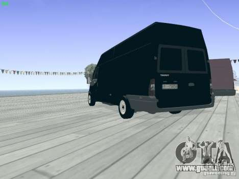 Ford Transit Jumbo 350L 2009 for GTA San Andreas back view