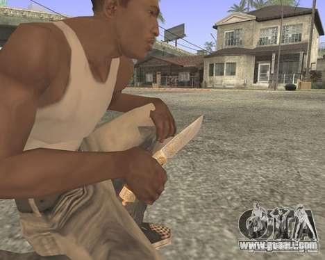 Knife HD for GTA San Andreas second screenshot