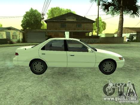 Toyota Camry 2.2 LE for GTA San Andreas right view