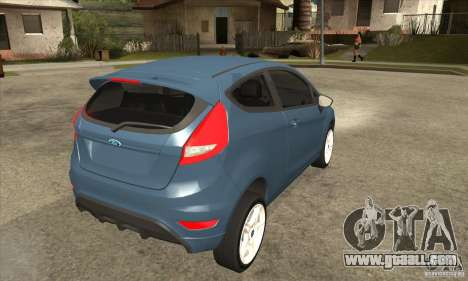 Ford Fiesta Zetec S 2009 for GTA San Andreas right view