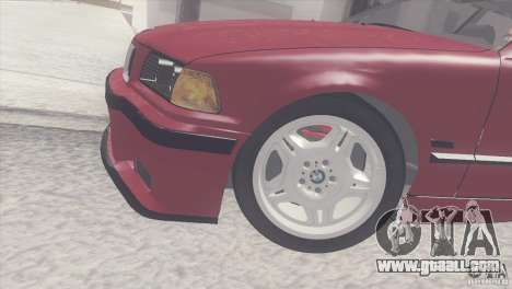 BMW e36 M3 Compact for GTA San Andreas right view
