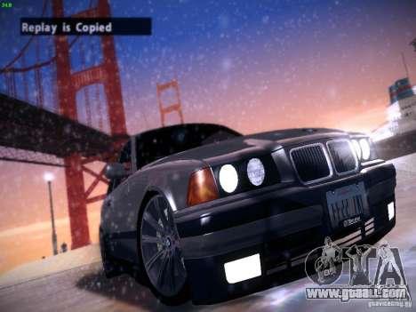 BMW M3 E36 320i Tunable for GTA San Andreas
