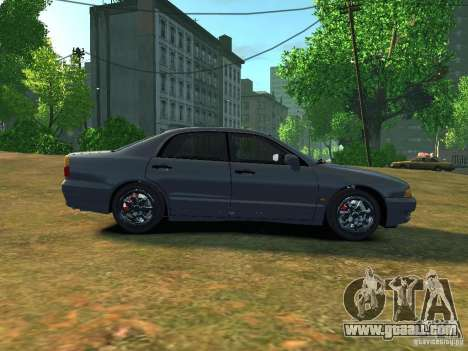 Mitsubishi Diamante v2.0 for GTA 4 left view