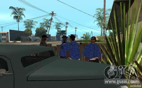 Crips 4 Life for GTA San Andreas seventh screenshot