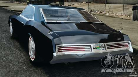 Buick Riviera 1966 v1.0 for GTA 4 back left view