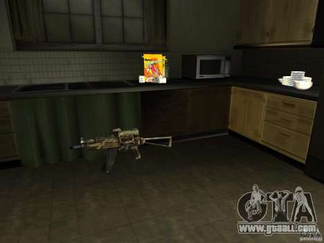 Domestic weapons-version 1.5 for GTA San Andreas second screenshot