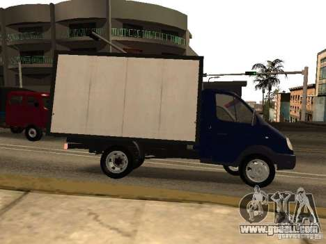 GAZ 3302-14 for GTA San Andreas left view