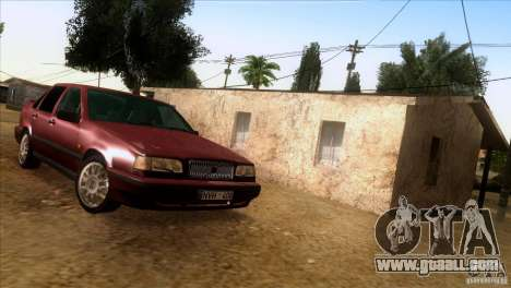 Volvo 850 Final Version for GTA San Andreas back view