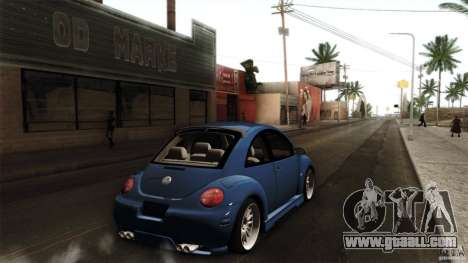 Volkswagen Beetle RSi Tuned for GTA San Andreas back left view