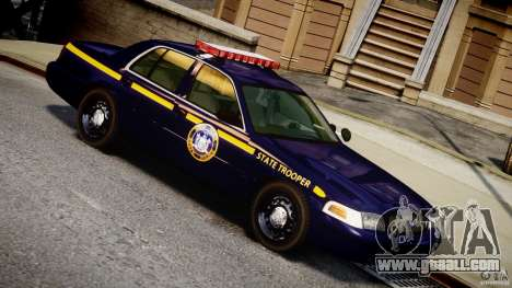 Ford Crown Victoria New York State Patrol [ELS] for GTA 4