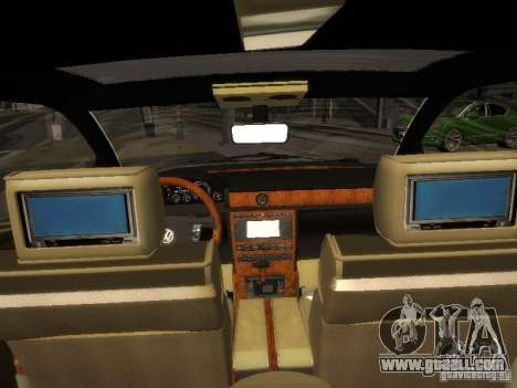 Volkswagen Phaeton W12 for GTA San Andreas back view