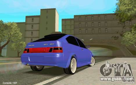 Lada 2112 Coupe for GTA San Andreas left view