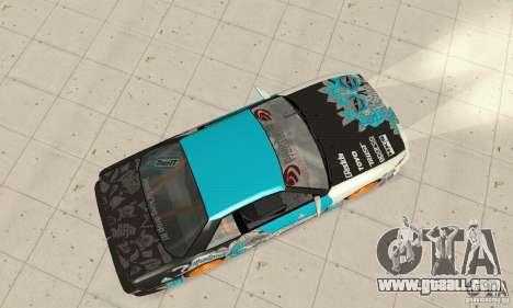 Nissan Silvia S13 NonGrata for GTA San Andreas back left view