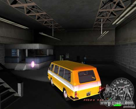 RAF 2203 for GTA Vice City left view