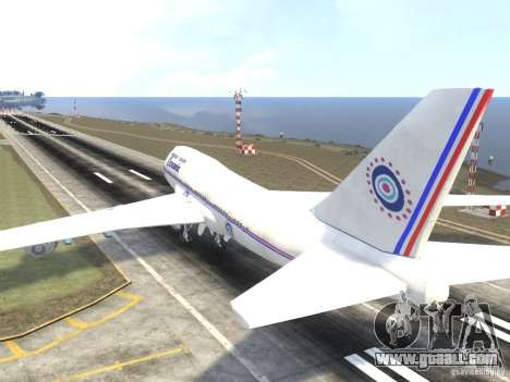 Oceanic Airlines for GTA 4 back left view